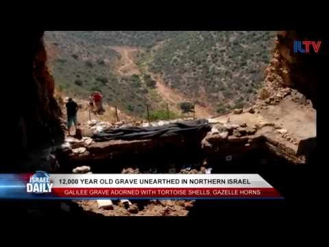 12,000-Year-Old Grave Unearthed in Northern Israel