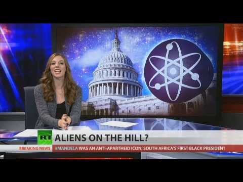 Space aliens on Congress' agenda