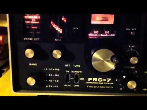 Yaesu frg7 receiving radio Japan