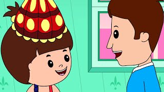 Happy Birthday To You! Full Song,  Kids Songs Nursery Rhymes For Children And Babies