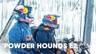 Evolving & Adapting the Sport of Snowbiking   Powder Hounds E2