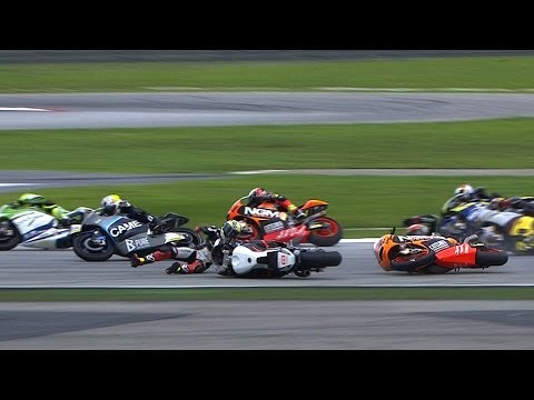 MotoGP™ Sepang 2013 — Biggest crashes