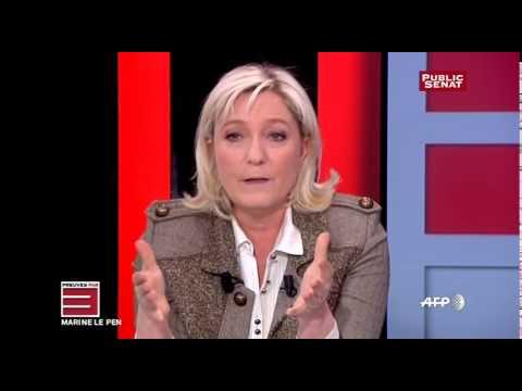 Invitée : Marine Le Pen, Présidente du Front National - Preuves par 3
