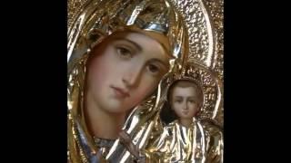 Афонские монахи призвали ежедневно читать акафист Казанской иконе Божией Матери. - копия
