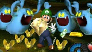 Luigi's Mansion 3DS - All Speedy Spirits & Gold Mice + Secrets