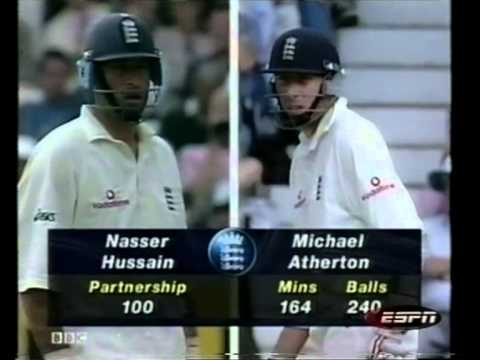 Famous Allan Donald vs Michael Atherton battle 98* full innings highlights 4th test 1998