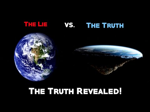 The Earth Is Flat And You've Been Lied To (NASA/Illuminati Deception Exposed)