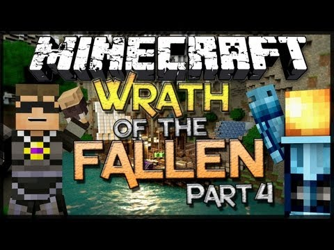 Minecraft: Wrath of the Fallen w SkyDoesMinecraft Part 4
