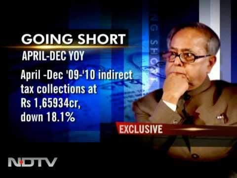 Govt braces for shortfall in revenue target