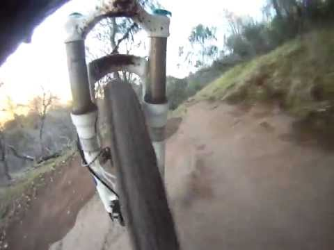 Fork travel video test - Upper Bidwell Park, Chico, CA.