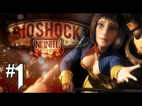 Bioshock Infinite Gameplay Walkthrough – Part 1 – Intro: Into The City (Xbox 360/PS3/PC HD)