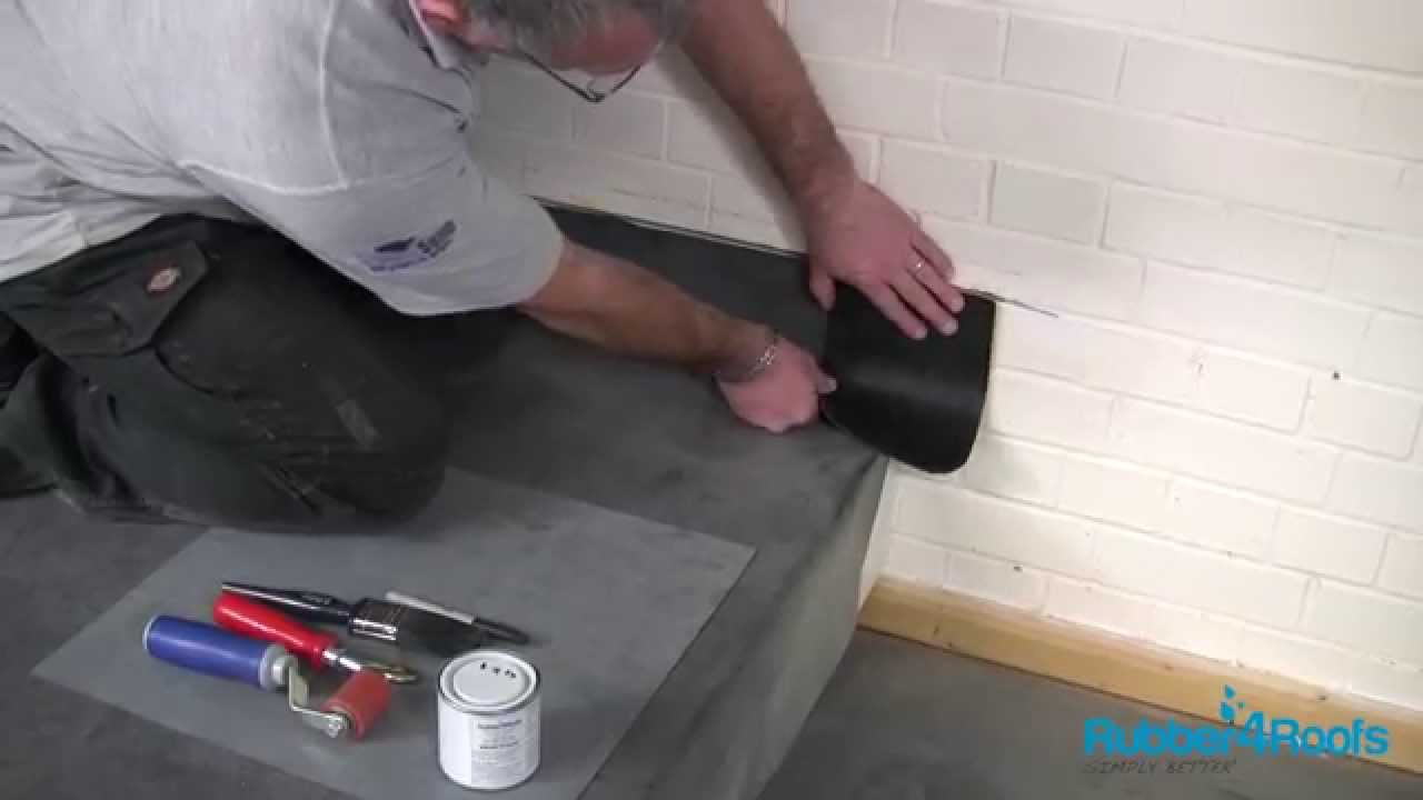 How To Install Metal Wall Trim On A Flat Roof From