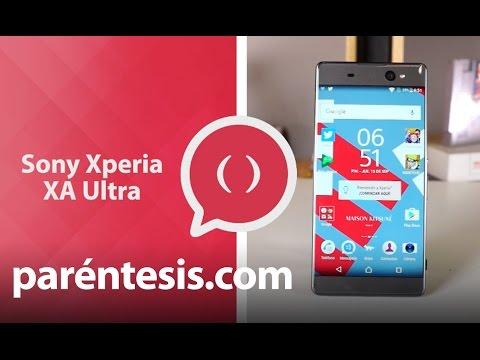 Sony Xperia XA Ultra. Review en español.