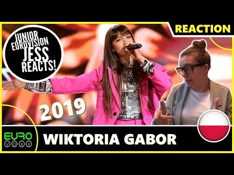 POLAND JUNIOR EUROVISION 2019 REACTION: Wiktoria Gabor - Superhero | JESS REACTS!