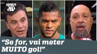 "BORJA no Santos? ""Se for, vai meter MUITO gol!"", dizem jornalistas"