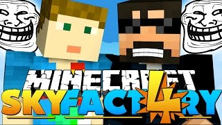 Minecraft: SkyFactory 4 -CRAINER ON VACATION TROLL!! [12]