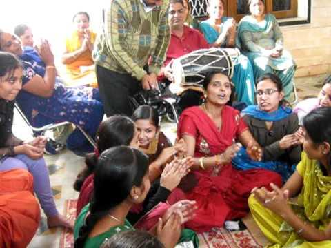 Punjabi Tappe competetion in......Punjabi wedding