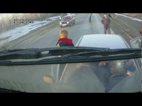 ДТП. Самая нелепая авария. Ехал, никого не трогал. Елшанка, Саратовская область.