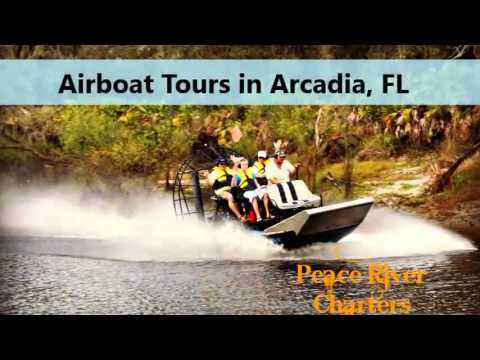Airboat Tours Arcadia FL, Peace River Charters LLC