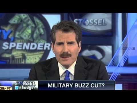 John Stossel - Military Budget Cuts