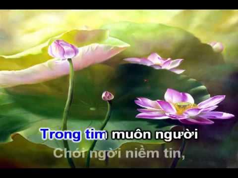 Về Dưới Đài Sen (Rất Hay) - Karaoke (Nhạc Phật Giáo chế lời)