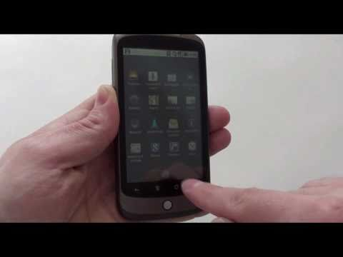 Google Nexus One - видео обзор htc nexus +one от Video-shoper.ru