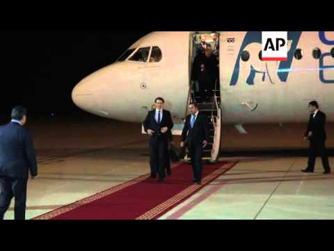 Austrian Foreign Minister arrives in Northern Iraq