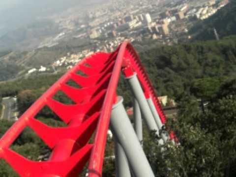 Nueva Monta 241 A Rusa Del Tibidabo Alta Calidad Youtube