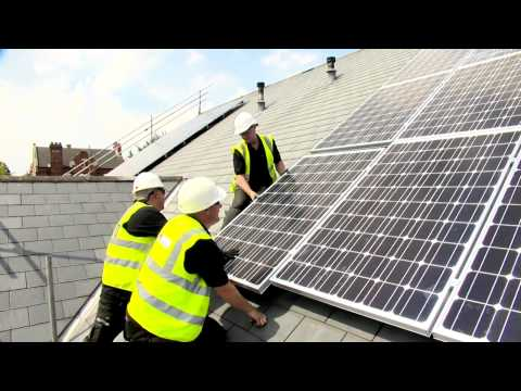 Solar power for businesses - Commercial Solar PV from EvoEnergy
