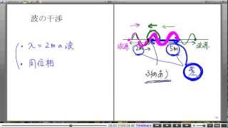 高校物理解説講義:「波の干渉」講義5