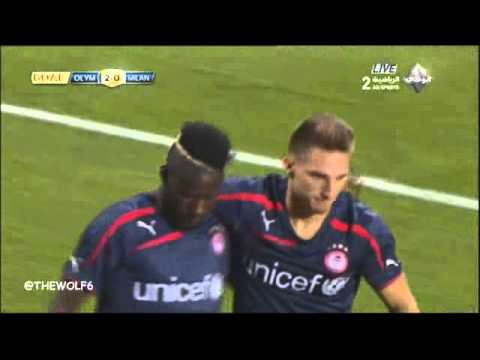 Olympiakos 3-0 AC Milan - All Goals - GUINNESS CHAMPIONS CUP 2014 - 24-7-2014