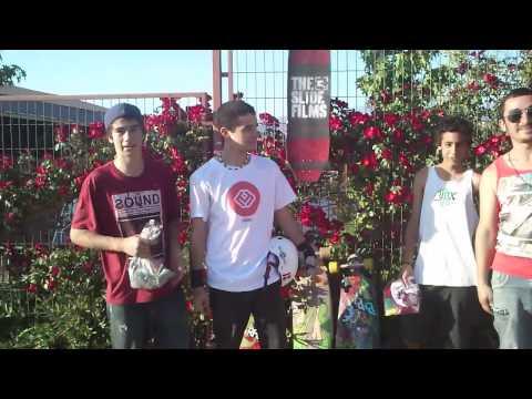 Campeonato Longboard : 2do Nacho, 3ro Nico