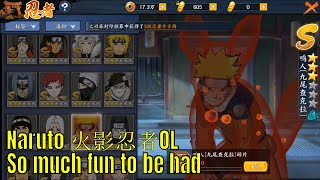 Naruto Online Mobile: Level 30 Content (????OL)