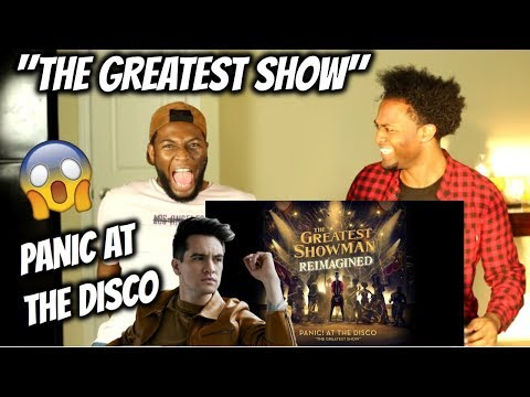 Panic! At The Disco - The Greatest Show (Official Lyric Video) (REACTION)