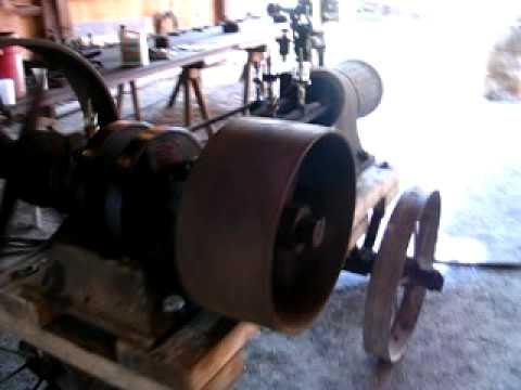 1903 Steam Engine running