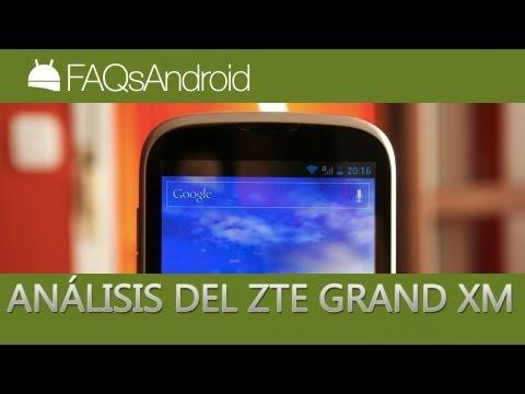 Análisis del ZTE Grand XM: Review en español   FAQsAndroid.com