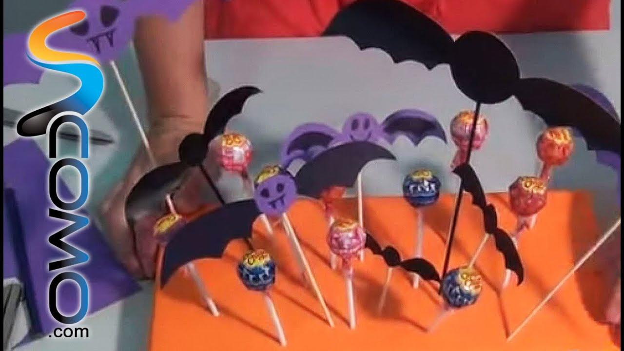 Centro de mesa para halloween youtube for Centros de mesa para halloween