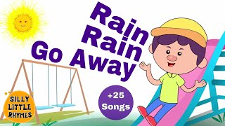 Rain Rain Go Away & More Classic Nursery Rhymes! | 25 Songs | 35 Minutes | HD Songs For Children