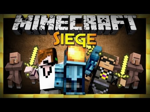 Minecraft: Siege Mini-Game - w/ Sky & Deadlox!