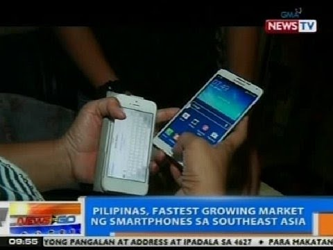 NTG: PHL, fastest growing market ng smartphones sa Southeast Asia