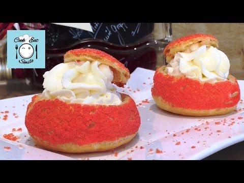 Пирожные шу с кракелином / Choux au Craquelin