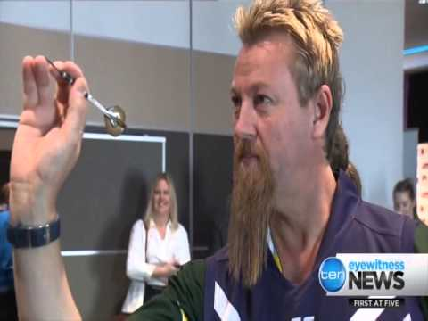 Perth Darts Masters - Ch Ten News - August 12, 2015