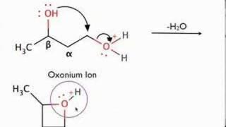 Organic Chemistry - Mechanism of Diol Cyclization