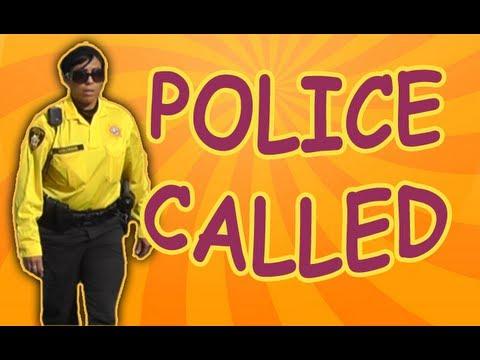 Cops Called - Bushman Scare Prank~