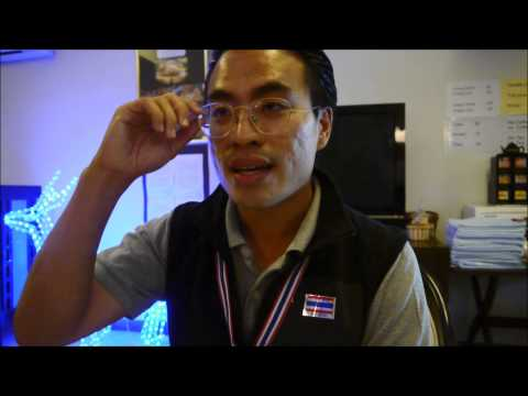 Thailand Protest 2013 - PDRC's Spokesman answers to foreign medias on democracy