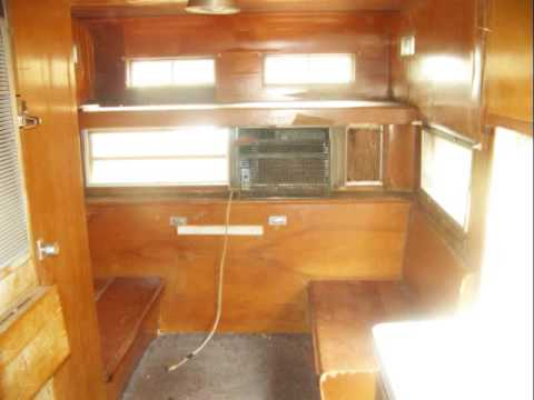 1970's HOLIDAY RAMBLER CAMPER TRAILER RV FOR SALE--$1 NO RESERVE AUCTION
