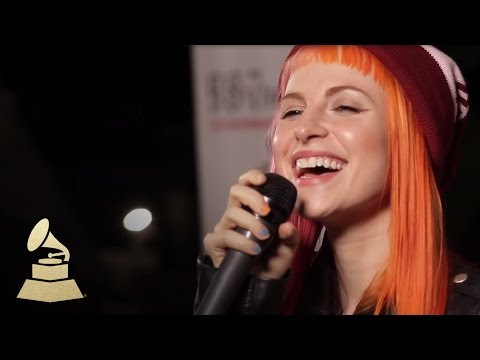 Live performance of Paramore's new single, Still Into You