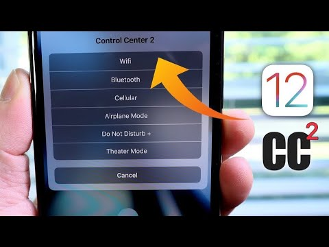How to Enable Control Center 2 iOS 12 Siri Shortcut