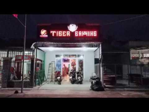 Chuẩn bị khai trương phòng net game TIGER GAMING tại Chợ Gạo Tiền Giang