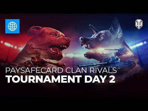 Paysafecard Clan Rivals Tournament: Day 2